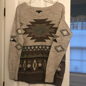 American Eagle Aztec Sweater
